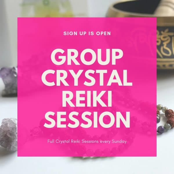 Group Crystal Reiki Session