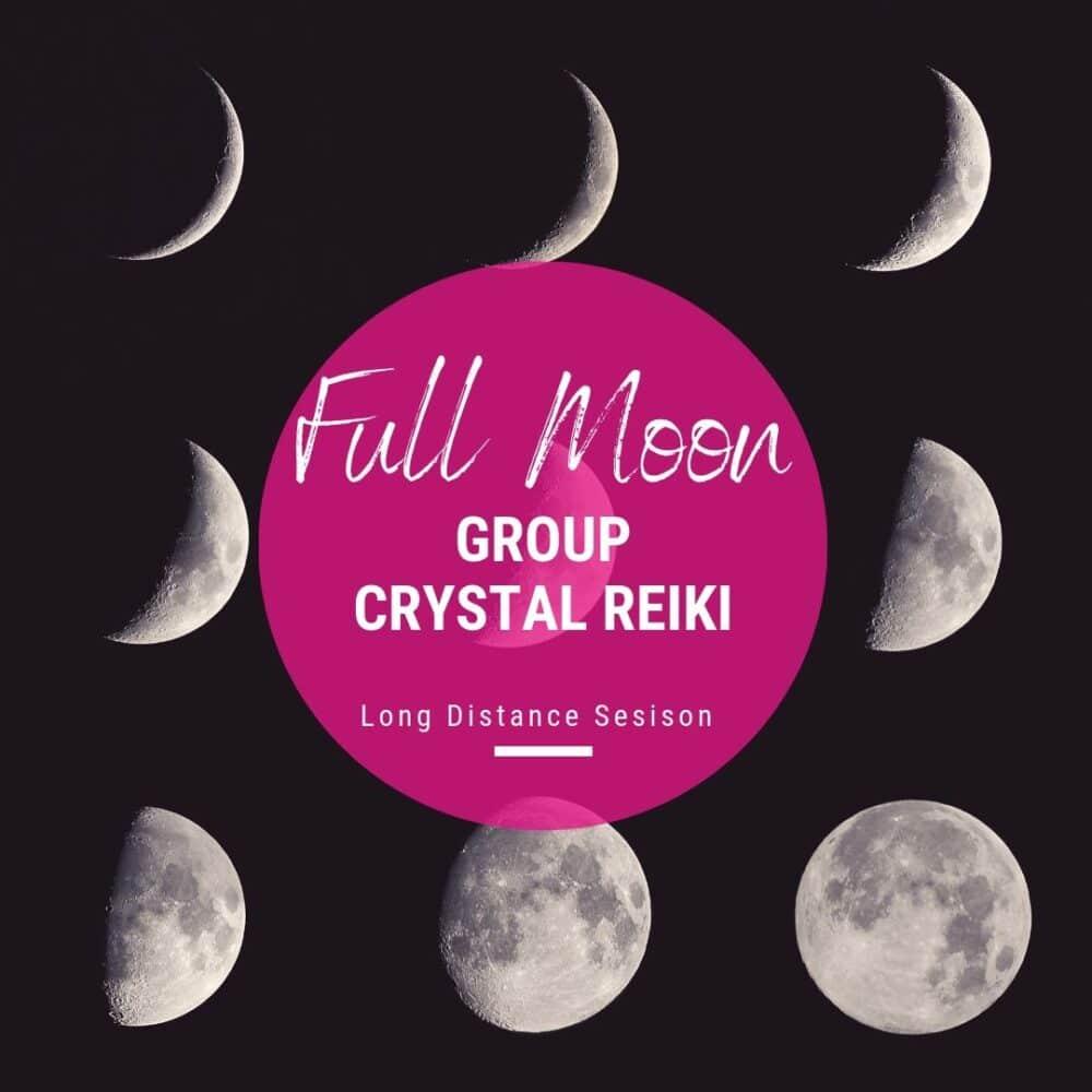 Full Moon Crystal Reiki