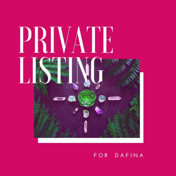 Private Listing