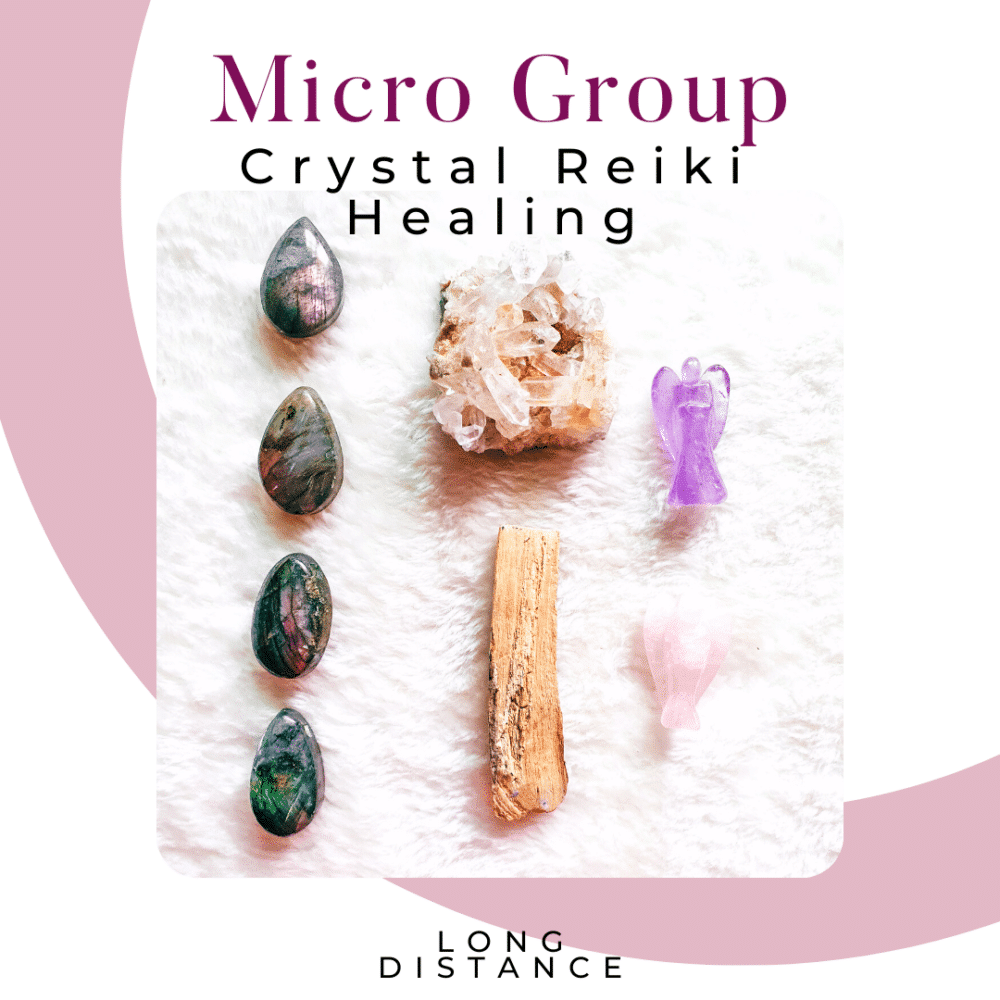 Micro Crystal Healing Session Product