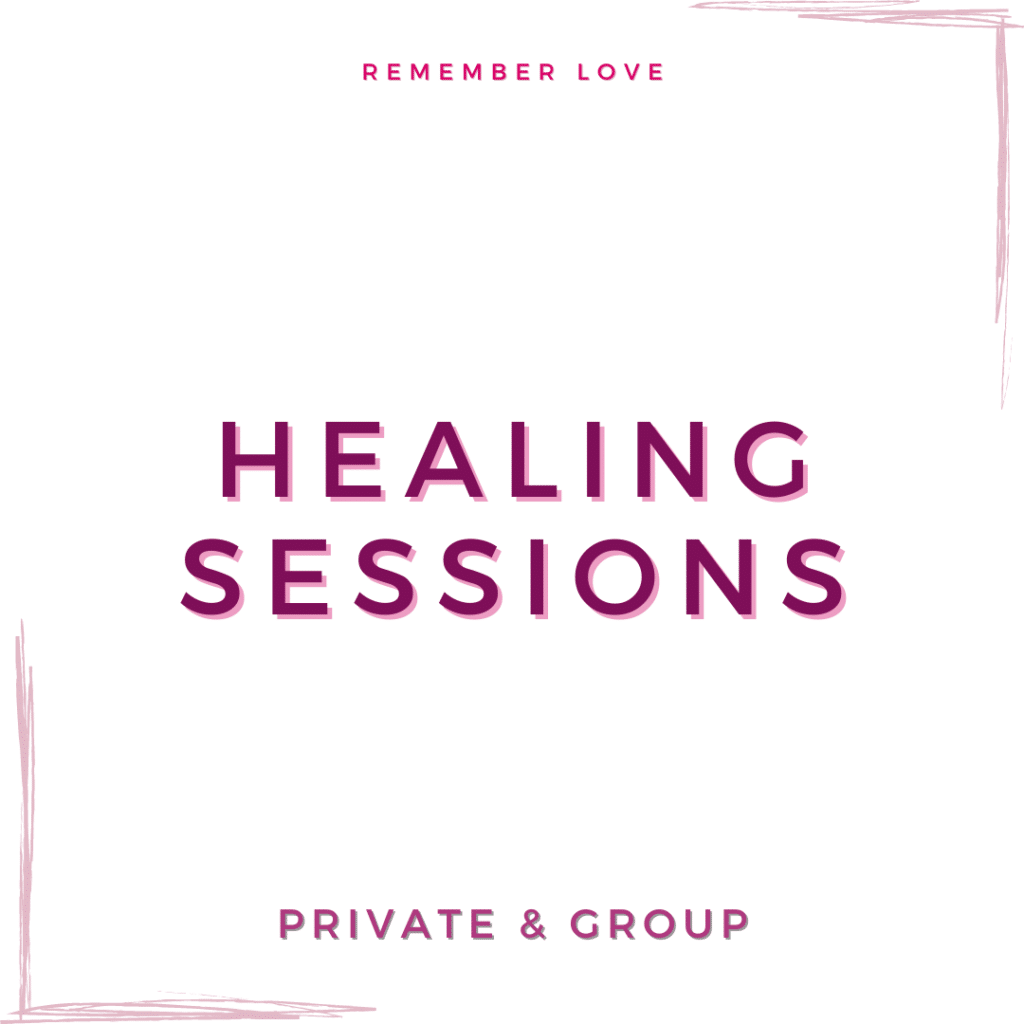 Healing session link